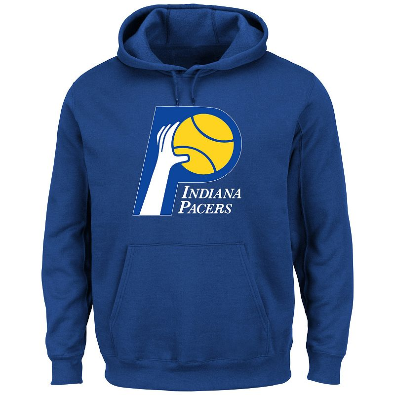 Majestic Indiana Pacers Hardwood Classics Tek Patch Hoodie - Men