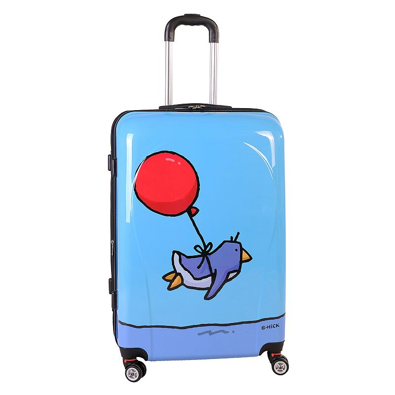 Ed Heck Flying Penguin 28-Inch Hardside Spinner Luggage