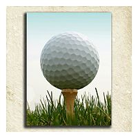 ''Golf'' Alphabet Wall Art