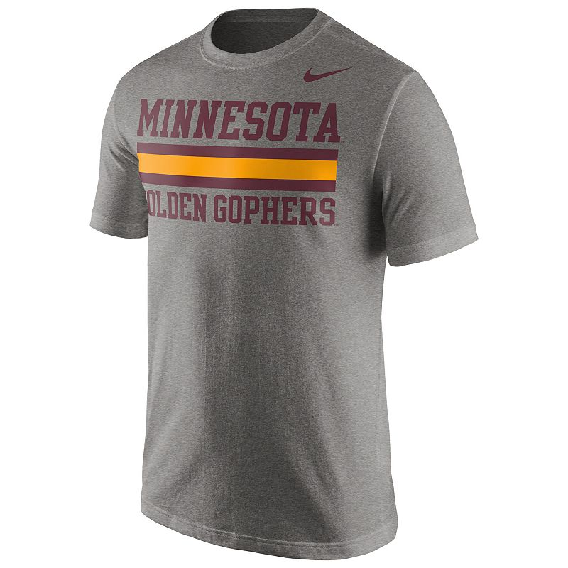 Men's Nike Minnesota Golden Gophers Team Stripe Tee