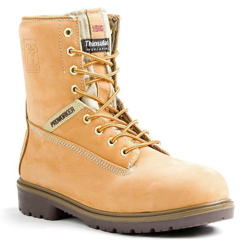 Kodiak Proworker Men's Waterproof Steel-Toe Work Boots