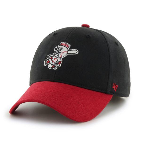 Youth '47 Brand Cincinnati Reds Short Stack Adjustable Cap