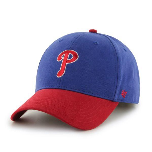 Youth '47 Brand Philadelphia Phillies Short Stack Adjustable Cap