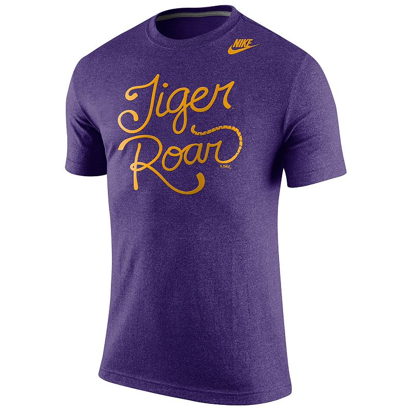 Men's Nike LSU Tigers Marled Local Tee