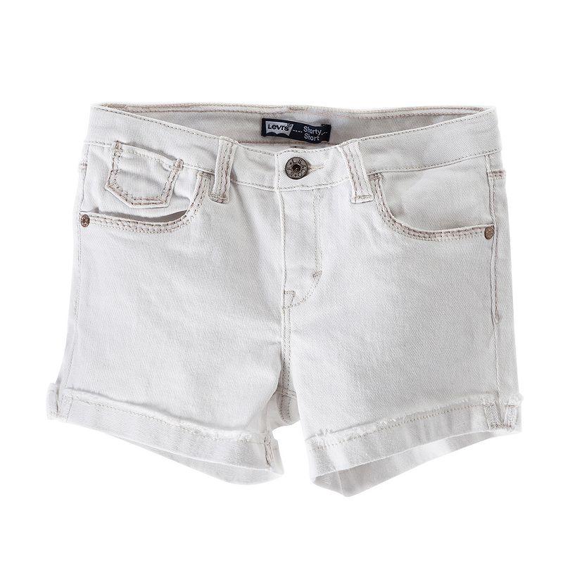 Levi's Mission Thick Stitch Denim Shorts - Girls 7-16