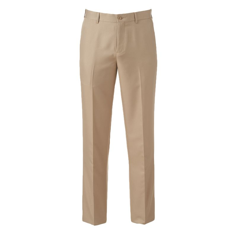 Men's Apt. 9® Slim-Fit No-Iron Flat-Front Pants
