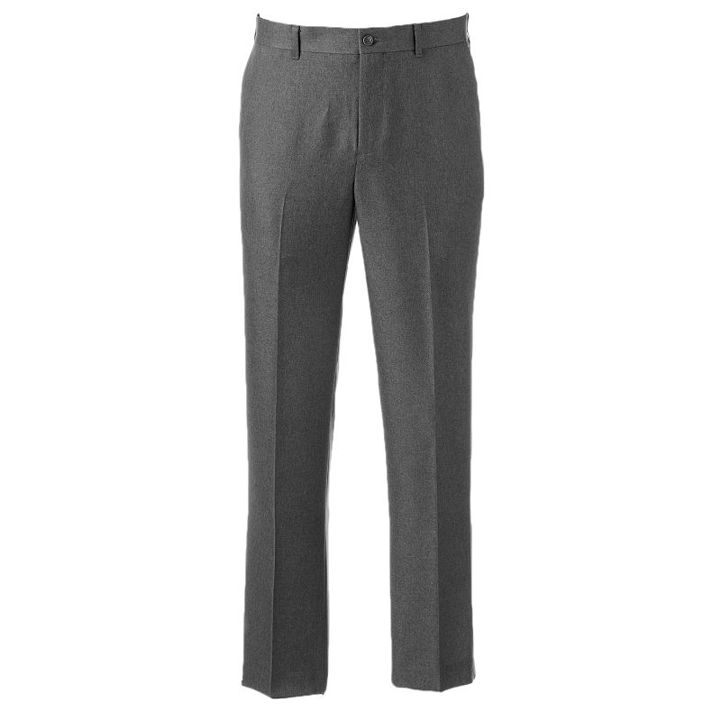 Men's Apt. 9® Slim-Fit No-Iron Flat-Front Pants