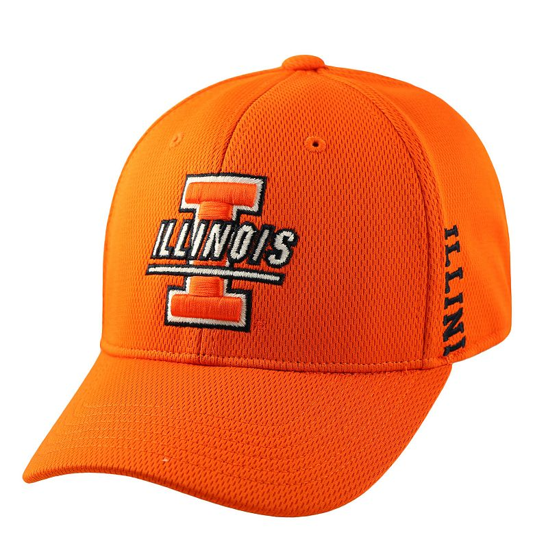 Adult Top of the World Illinois Fighting Illini Booster One-Fit Cap