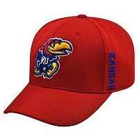 Adult Top of the World Kansas Jayhawks Booster One-Fit Cap
