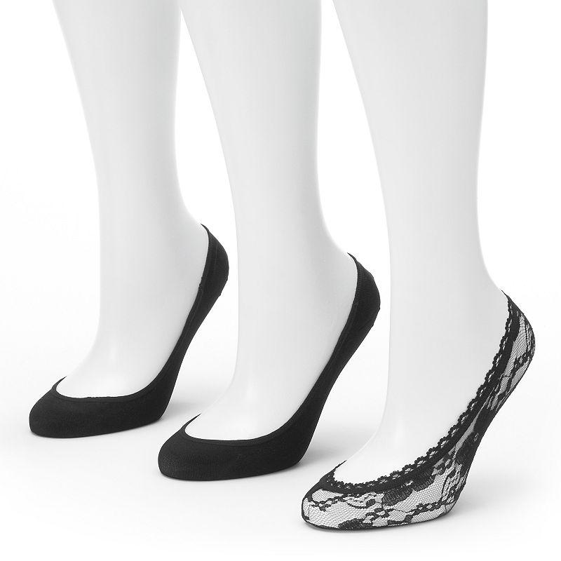 Apt. 9® 3-pk. Liner Socks - Women