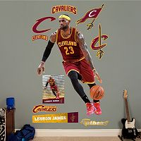 Cleveland Cavaliers LeBron James No. 23 Wall Decals by Fathead