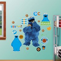 Sesame Street Cookie Monster Wall Decals by Fathead