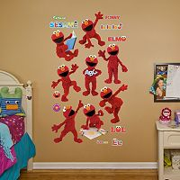 Sesame Street Elmo Wall Decals by Fathead