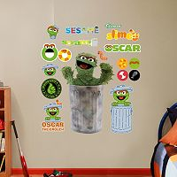 Sesame Street Oscar the Grouch Wall Decals by Fathead