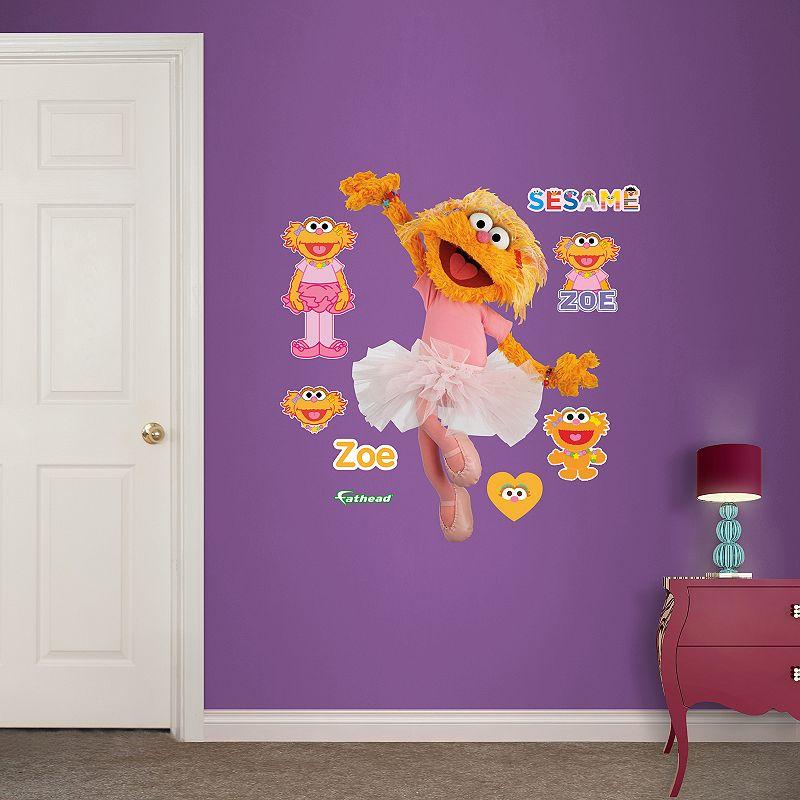 Sesame Street Zoe Wall Decals by Fathead Jr.