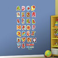 Sesame Street Elmo's Illustrated Alphabet Wall Decals by Fathead