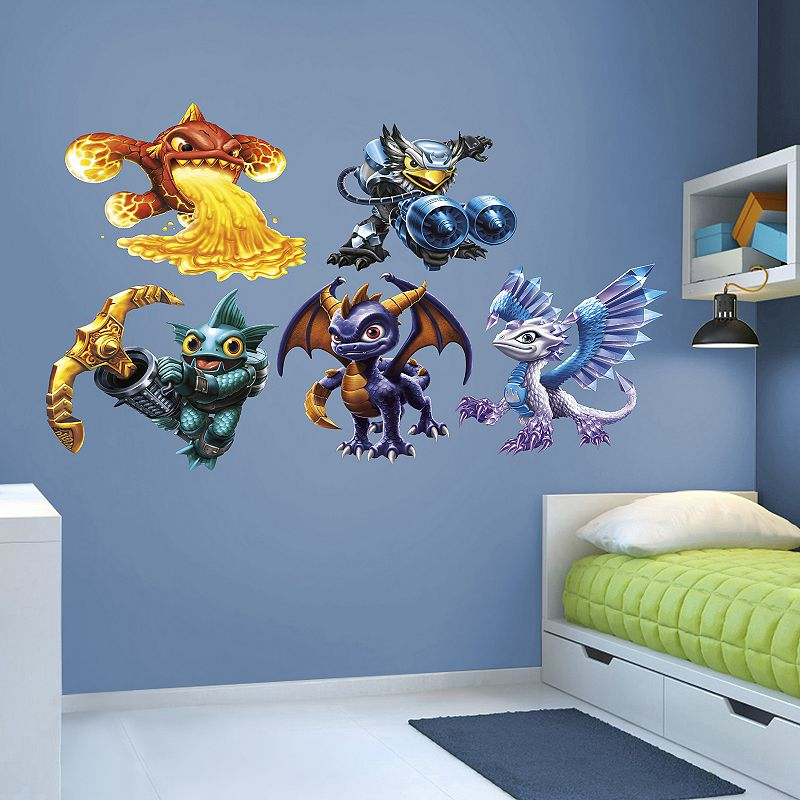 Skylanders Core Collection Wall Decals by Fathead