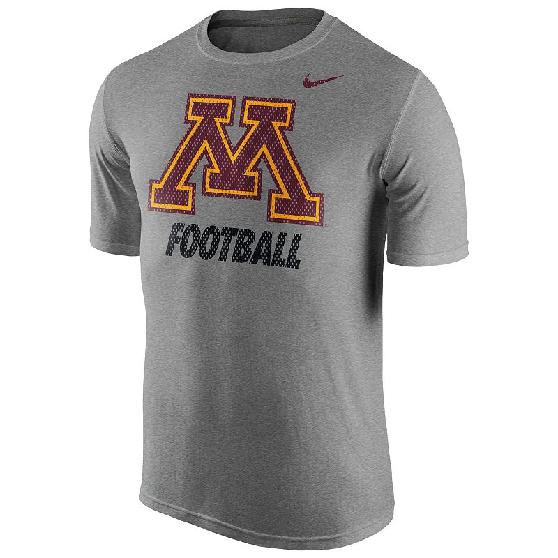 Men's Nike Minnesota Golden Gophers Football Legend Dri-FIT Performance Tee