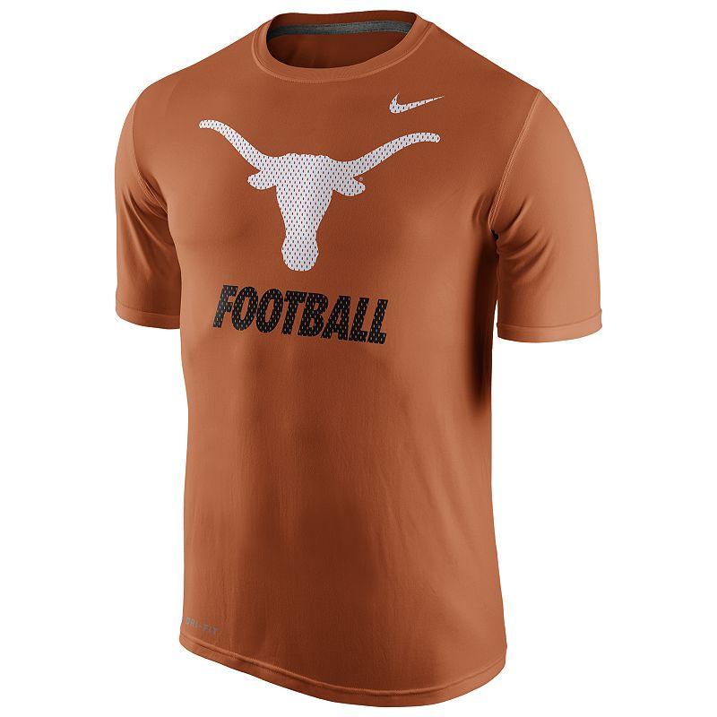 Men's Nike Texas Longhorns Football Legend Dri-FIT Performance Tee