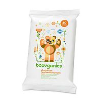 Babyganics 20-pk. Alcohol-Free Mandarin Hand Sanitizer Wipes