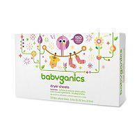 Babyganics 120-pk. Lavender Dryer Sheets