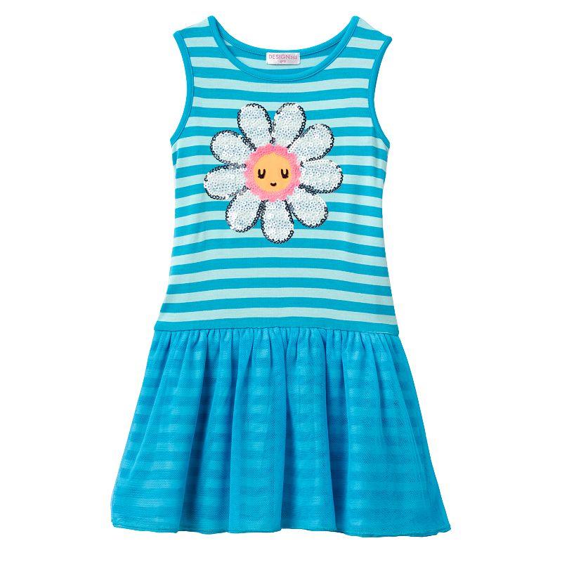 Design 365 Drop-Waist Daisy Dress - Toddler Girl