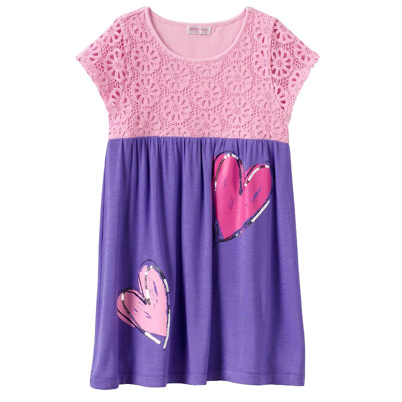 Design 365 Crochet Heart Dress - Toddler Girl