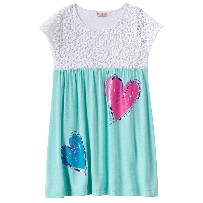 Design 365 Crochet Heart Dress - Toddler Girl