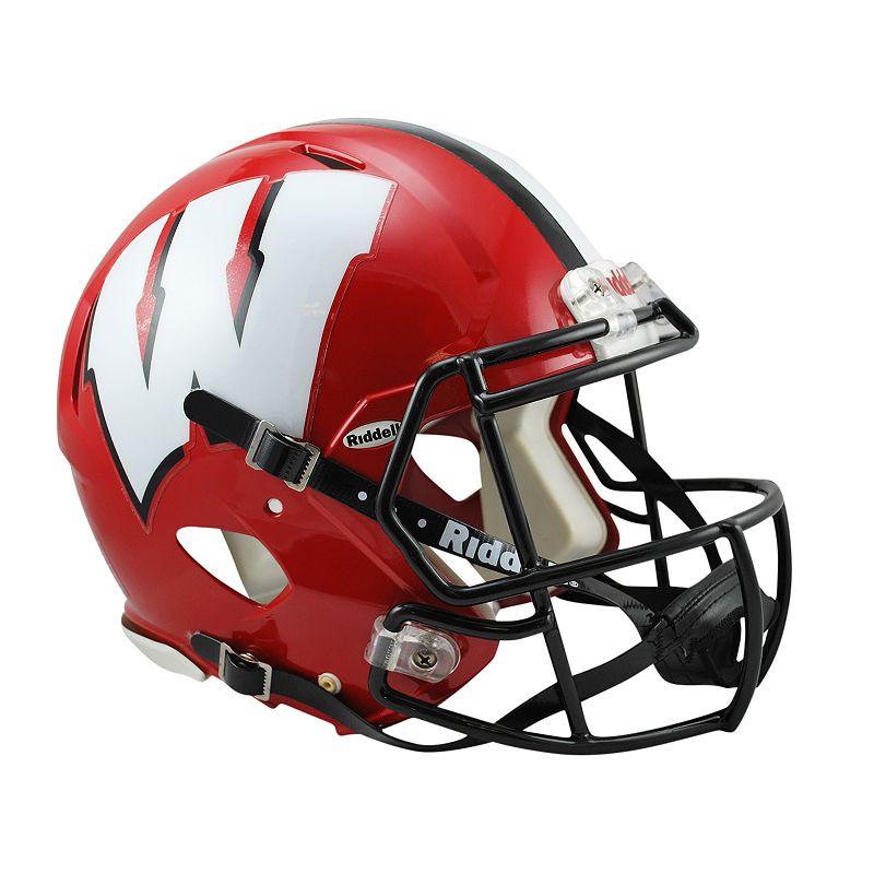 Riddell Wisconsin Badgers Revolution Speed Authentic Helmet