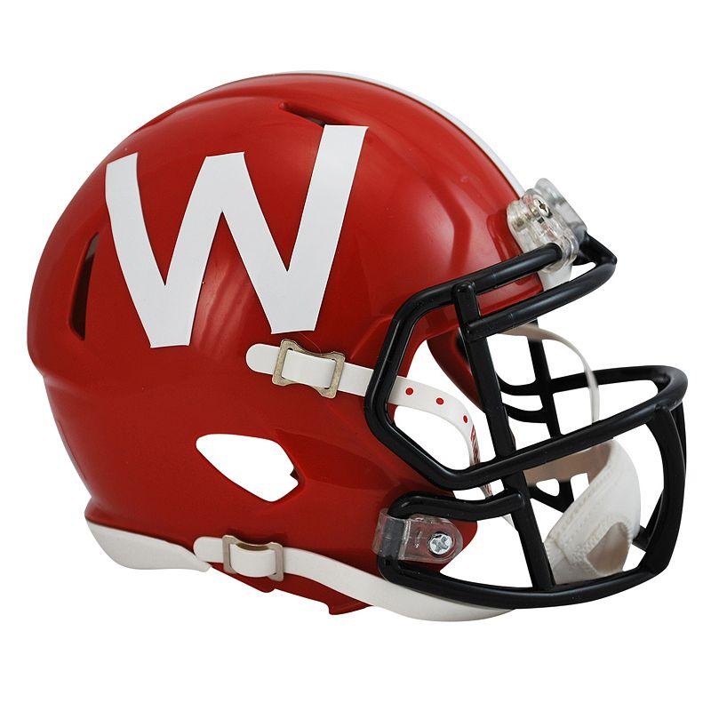 Riddell Wisconsin Badgers Deluxe Replica Helmet