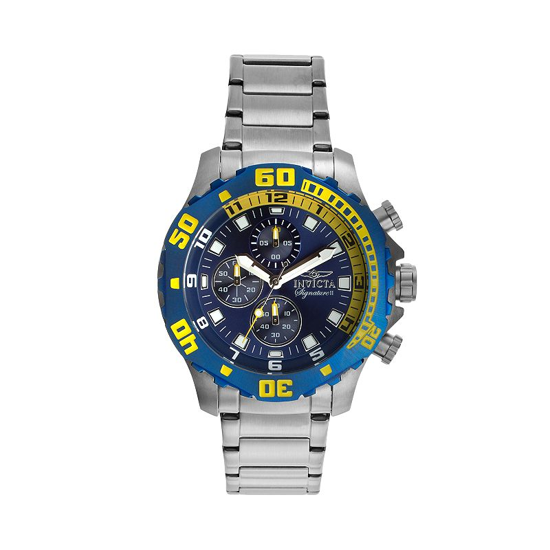 Invicta Men's Signature Stainless Steel Chronograph Watch - KH-IN-7353