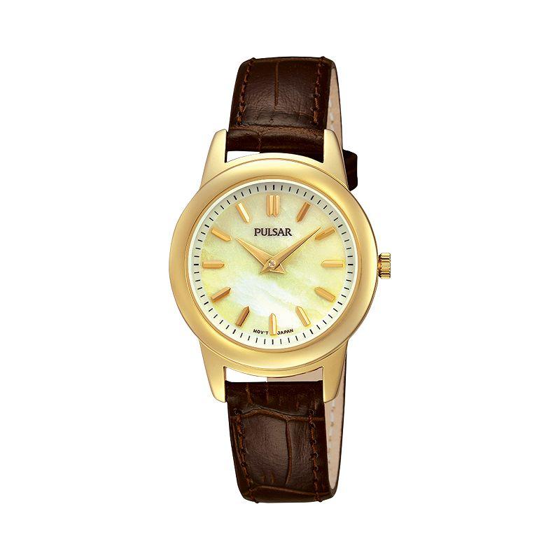 Pulsar womens quartz watch kohl 39 s for Watches kohls