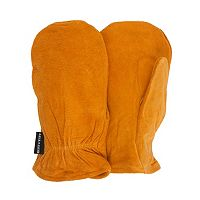 Men's QuietWear Split Leather Thinsulate Mittens
