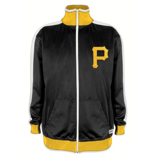 Men's Stitches Pittsburgh Pirates Track Jacket