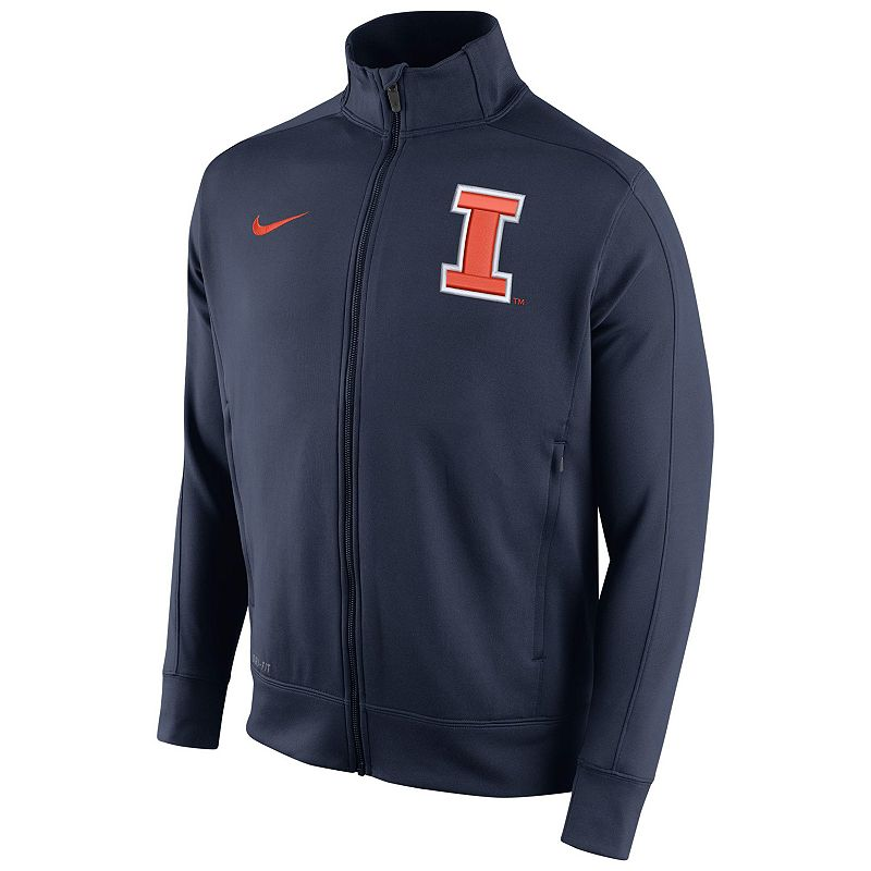 Men's Nike Illinois Fighting Illini Stadium Class Track Jacket