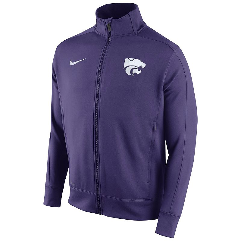 Men's Nike Kansas State Wildcats Stadium Class Track Jacket
