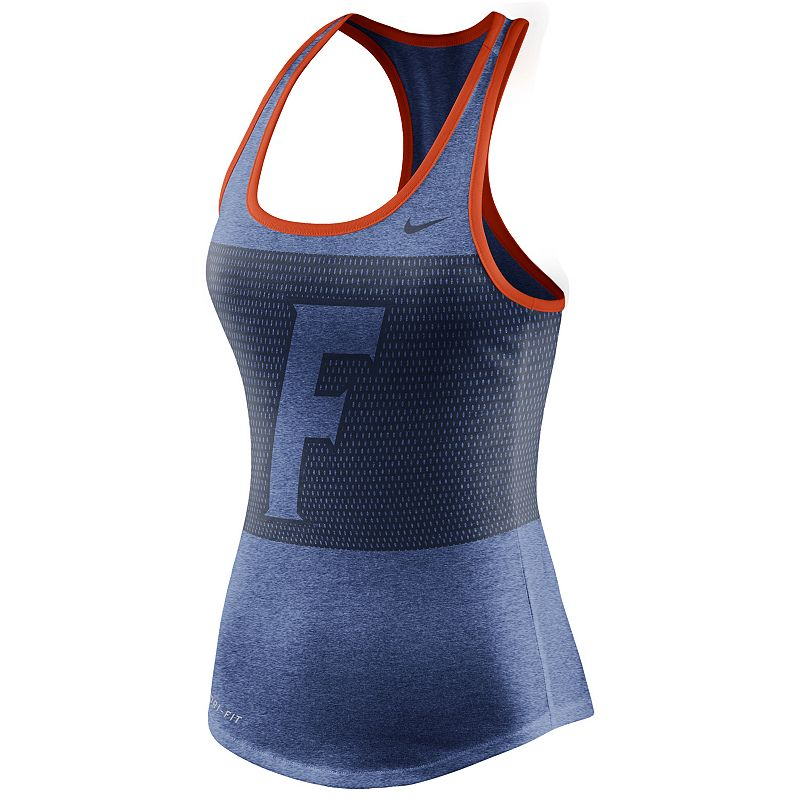 Women's Nike Florida Gators Dri-FIT Performance Mesh Tank Top