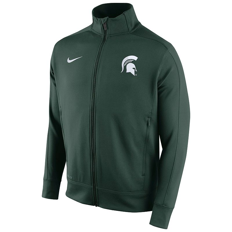 Men's Nike Michigan State Spartans Stadium Class Track Jacket