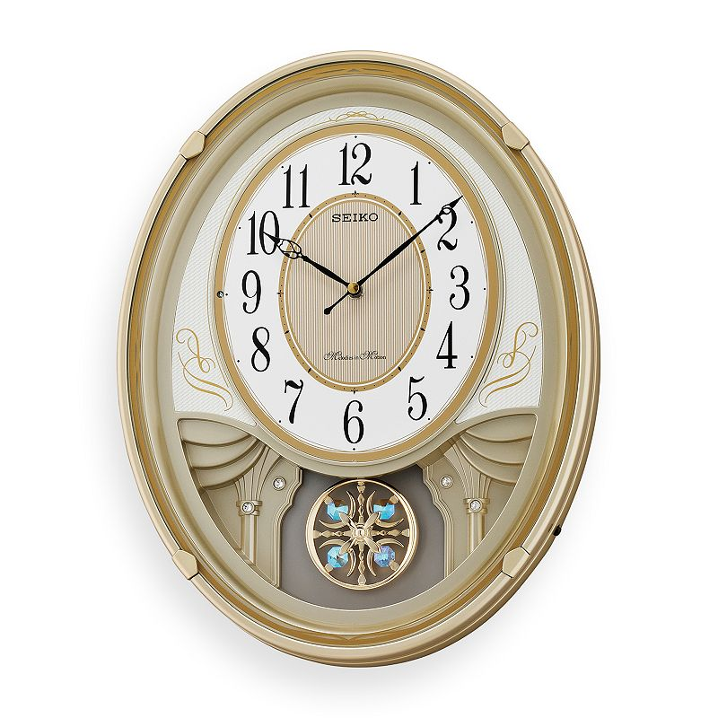 Seiko Melodies in Motion Lucienne Wall Clock - QXM549SLH
