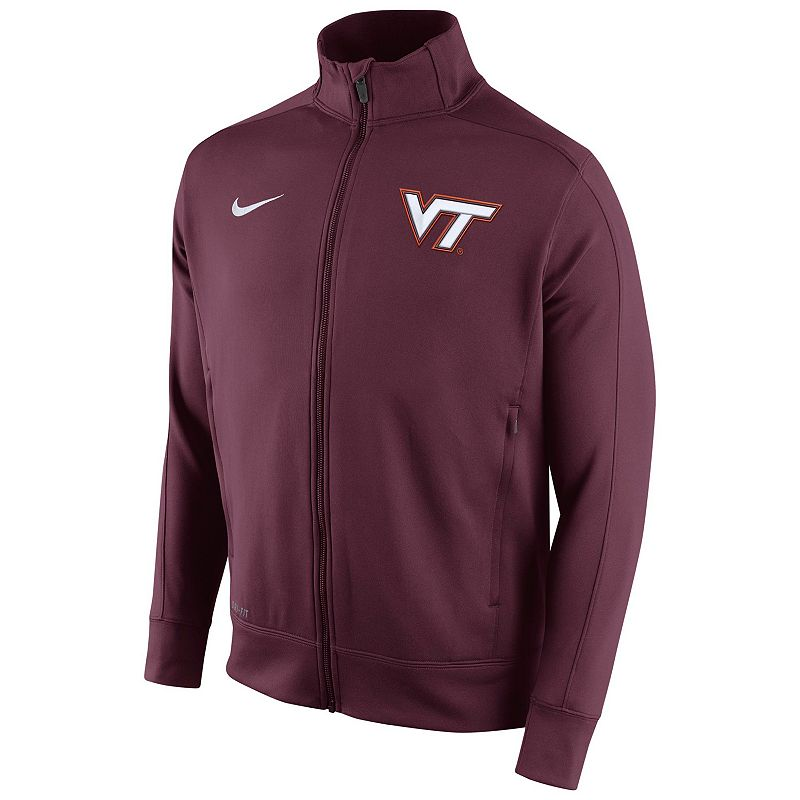 Men's Nike Virginia Tech Hokies Stadium Class Track Jacket