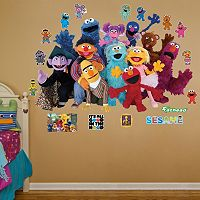 Sesame Street Group Wall Decals by Fathead