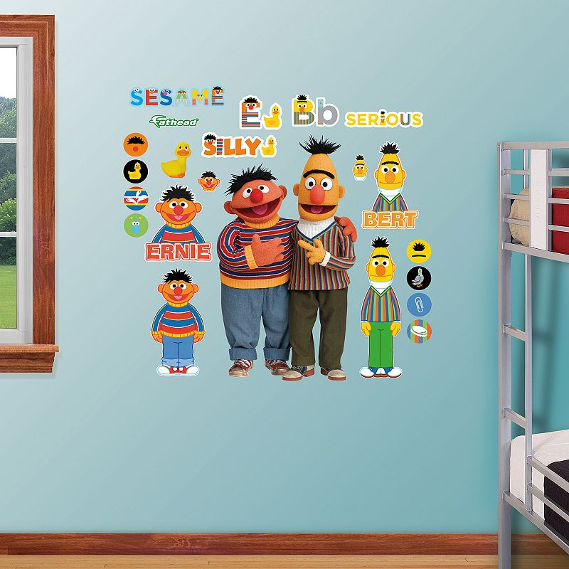 Sesame Street Bert and Ernie Wall Decals by Fathead