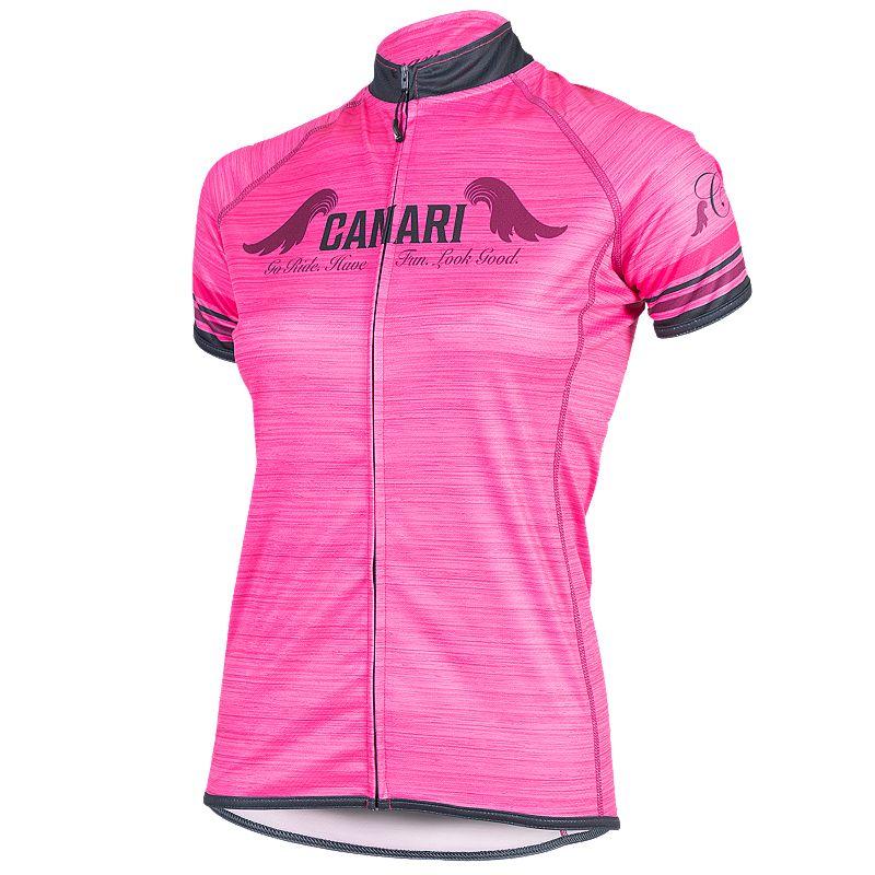 Women's Canari Arya Full-Zip Cycling Jersey