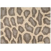 Nourison Splendor Leopard Print Shag Rug