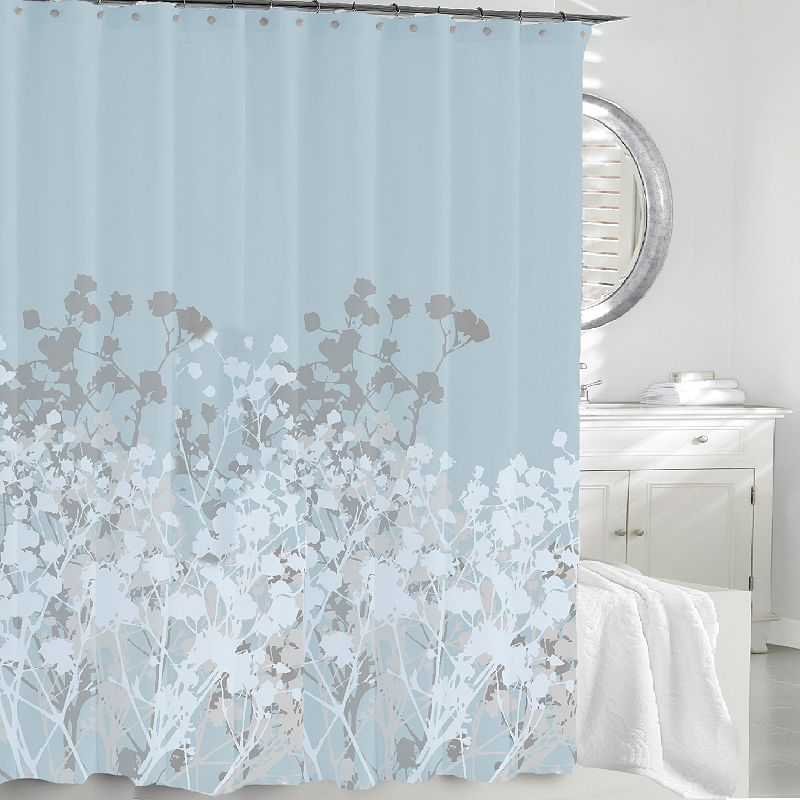 72x72 Floral Shower Curtain