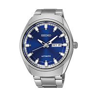 Seiko Men's Recraft Stainless Steel Automatic Watch - SNKN41