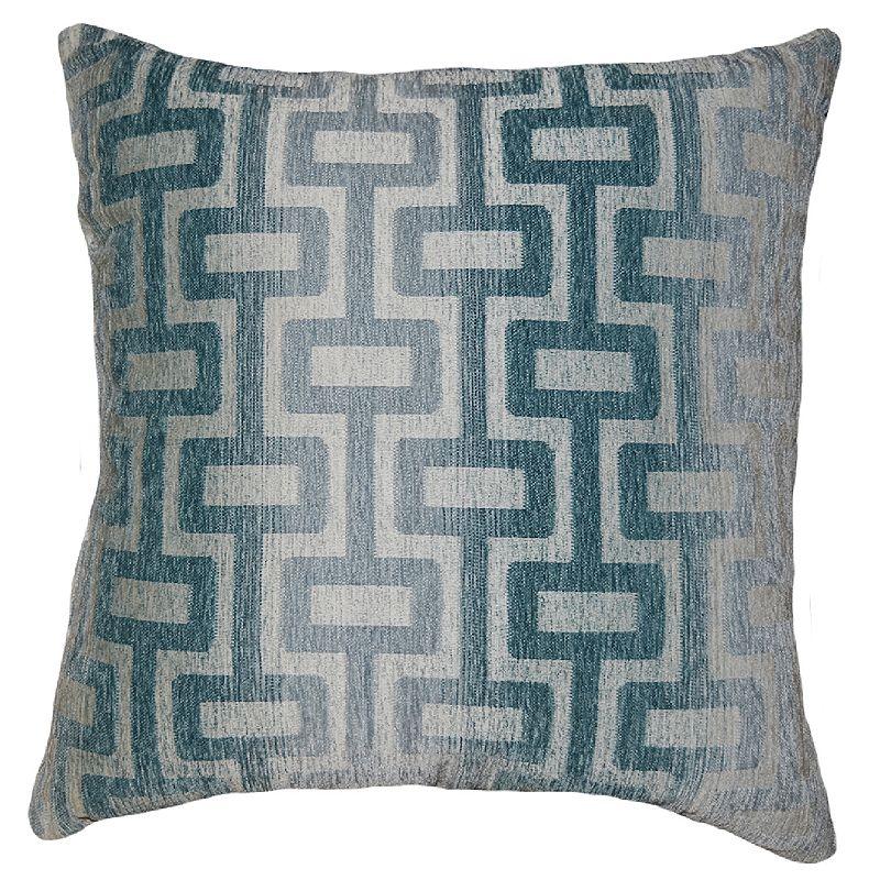 Blue Polyester Geometric Throw Pillow Kohl 39 S