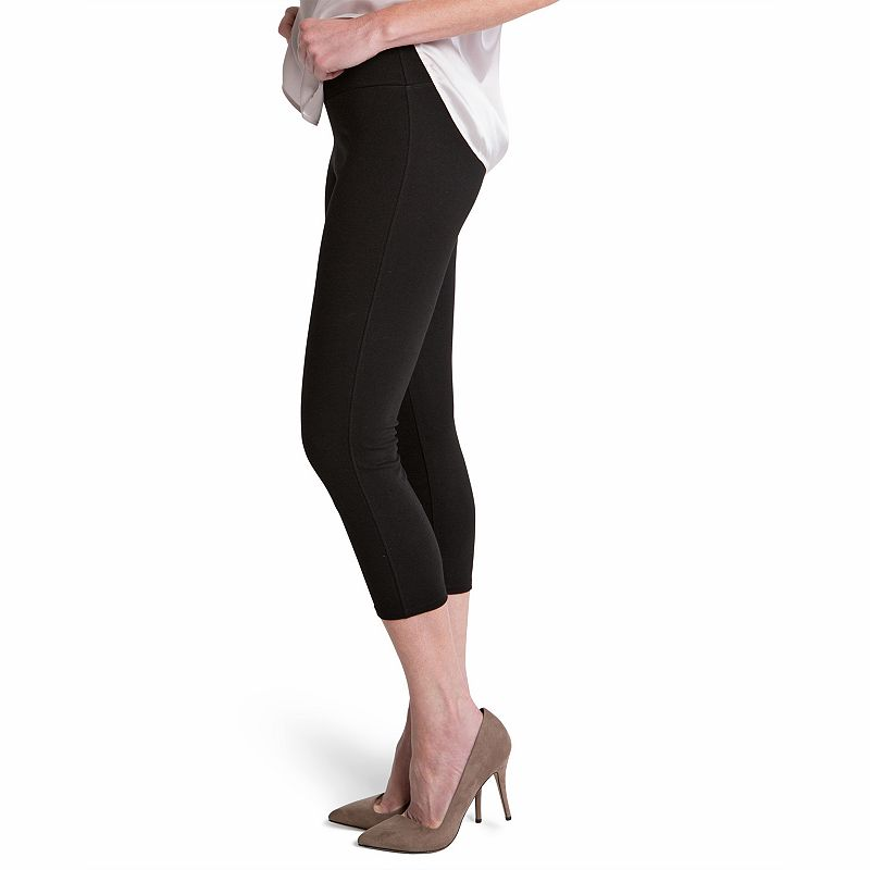 ASSETS Red Hot Label by Spanx Ponte Shaping Capri Leggings