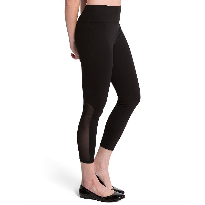 ASSETS Red Hot Label by Spanx Vented Mesh Shaping Crop Leggings