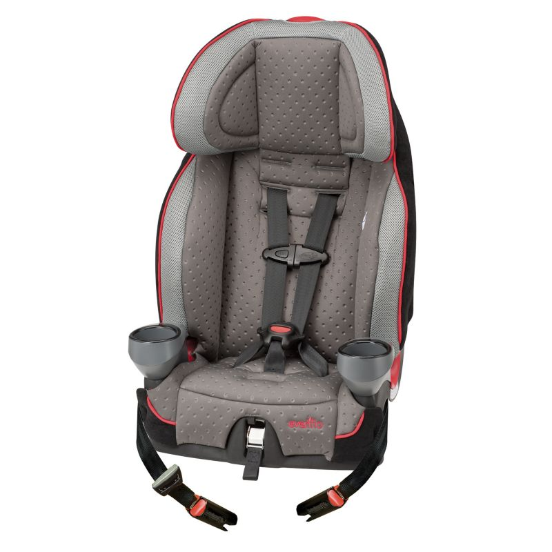 Evenflo Securekid LX Booster Car Seat, Grey